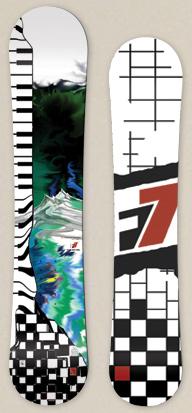 flip seven snowboards