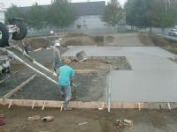 skateboard park construction