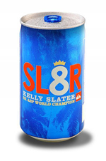 kelly slater beer can