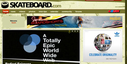 skateboard.com screenshot