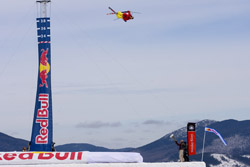 simon dumont world record quarter pipe