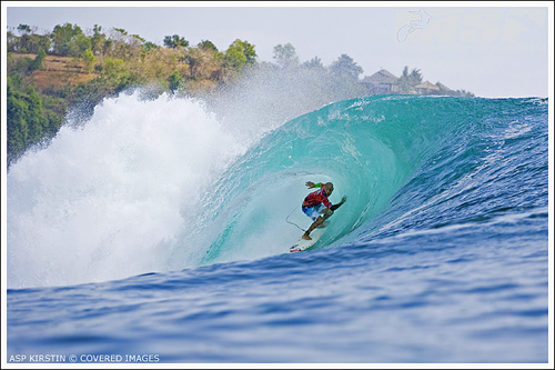Kelly Slater Switch-foot Barrel