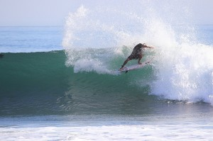 Kelly Slater at Trestles