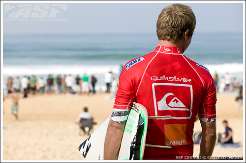 taj burrow and quiksilver pro france