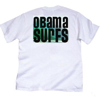 obama surf tshirt