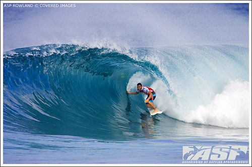 joel parkinson pipeline masters perfect 10