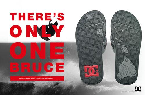 dc bruce irons signature sandal