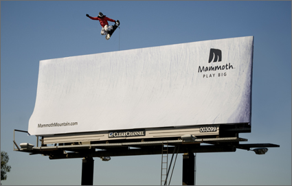 mammoth mountain play big billboard