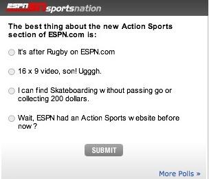 espn action sports