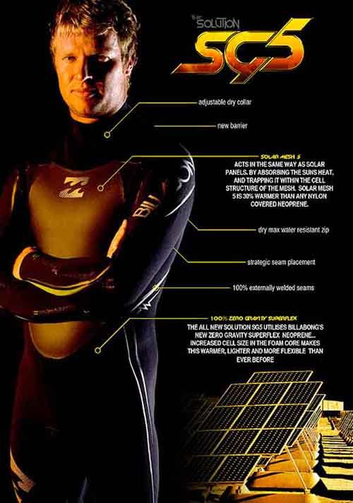 billabong sg5 wetsuit