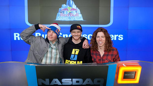 shaun white travis rice pat moore closing bell