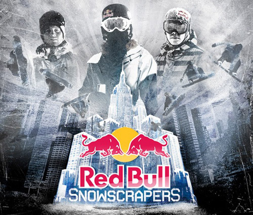 red bull snowscrapers