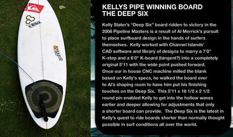 kelly slater deep six