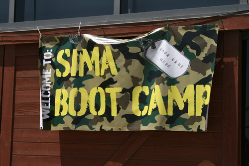 sima green boot camp